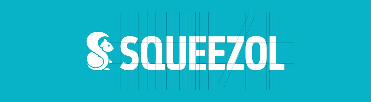 Studio del logo Squeezol