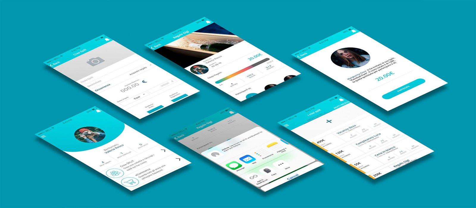 Panoramica app di Squeezol